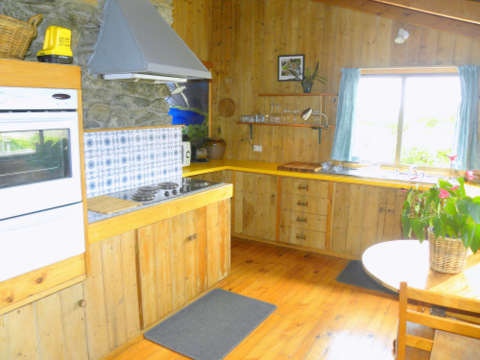 Kitchen - Aurora Beach Cottage